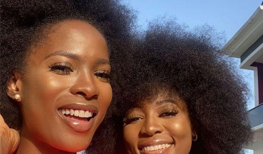 Le charme de l'afro : Jemima Osunde (actrice) et Modupe Longe (influençeur)