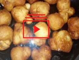 Mekali beignets de farine (vidéo)