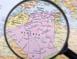 Algérie carte map