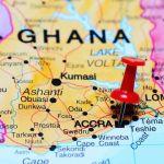 Ghana map carte