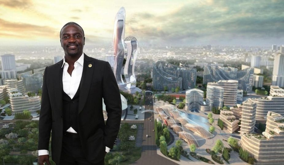 Akon City à Mbodiène au Sénégal
