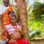 grossesse couple africain_african father and pregnant wife