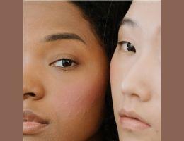 peau mixte africaine asiatique