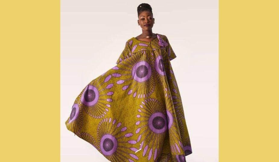 Robe pagne kabagongo cameroun