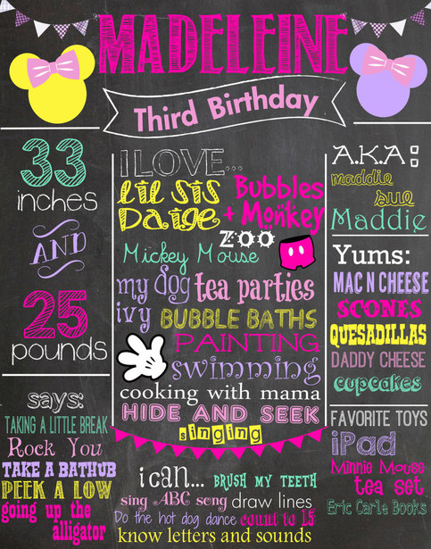 Birthday Invitation Stationery