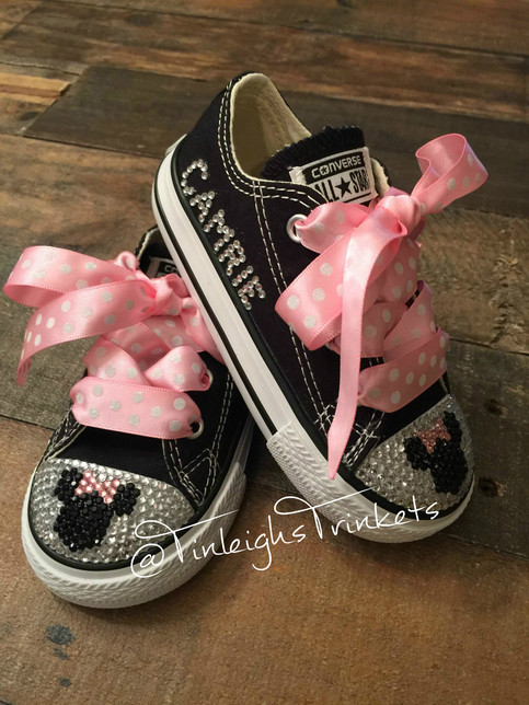Adorn With Minnie Mouse Pink Personalized Toddler