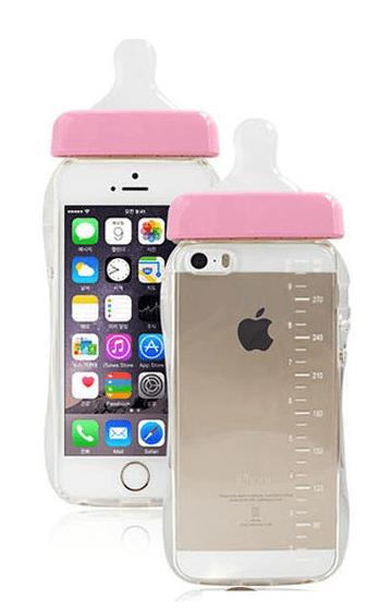 iPhone 6/6S, 6/6S Plus, 5/5S - Ultra-Cute Baby Bottle Case ...
