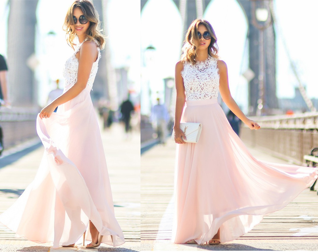 Modest Prom DressChiffon Prom Dress Long Prom Dresses