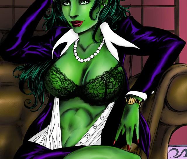 She Hulk X Art Print By Alfred Trujillo And Cara Nicole
