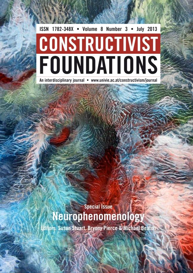 Happen Prance cover of Constructivist Foundations