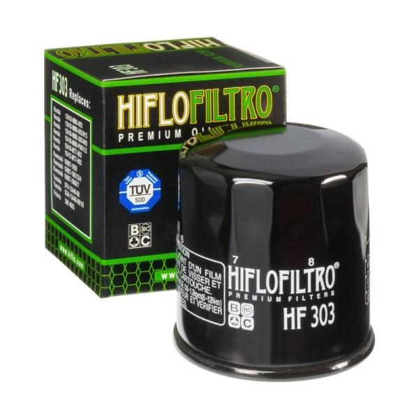 Фильтр масляный HIFLOFILTRO HF303 для мотоцикла