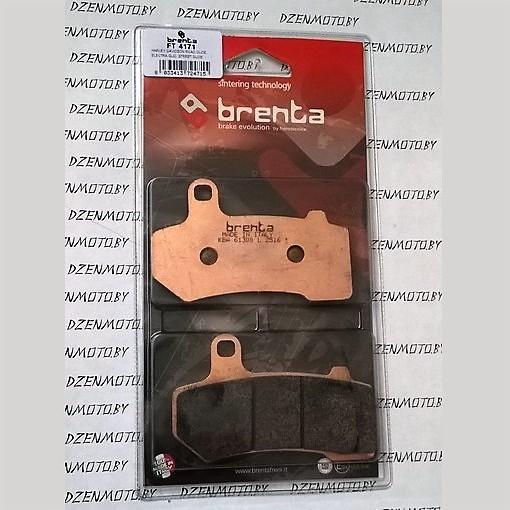 Колодки тормозные BRENTA FT4171 синтетические