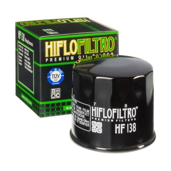 Фильтр масляный HIFLOFILTRO HF138 для мотоцикла Aprilia, Suzuki