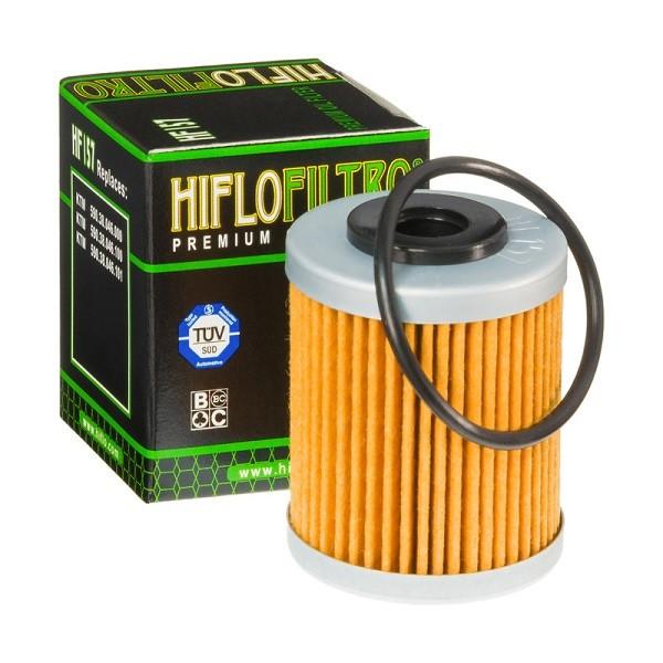 Фильтр масляный HIFLOFILTRO HF157 для KTM, Polaris