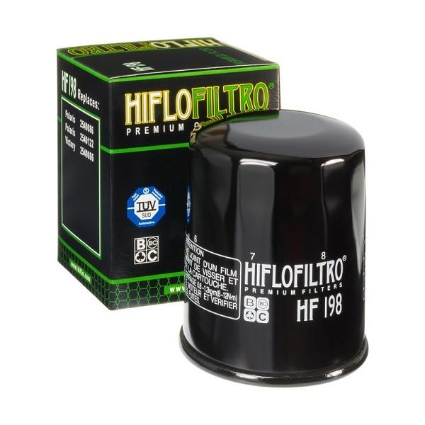 Фильтр масляный HIFLOFILTRO HF198 для мотоциклов Polaris, Victory
