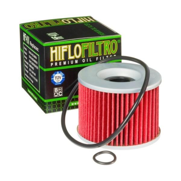 Фильтр масляный HIFLOFILTRO HF401 для мотоцикла Kawasaki, Honda, Yamaha