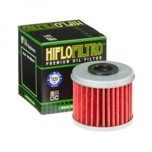 Фильтр масляный HIFLOFILTRO HF116 для мотоцикла Honda, Husquarna, Polaris