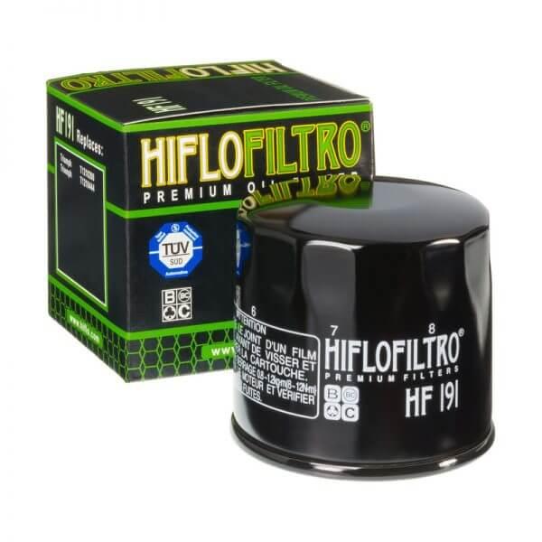 Фильтр масляный HIFLOFILTRO HF191 для мотоцикла Peugeot, Triumph