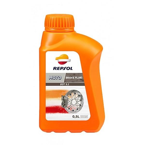 Тормозная жидкость REPSOL Moto DOT 5.1 Brake Fluid 500 мл RP713B56