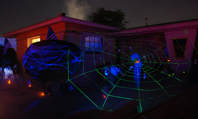 scary strobe halloween lights