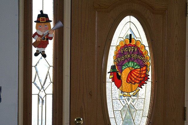 Thanksgiving door decoration