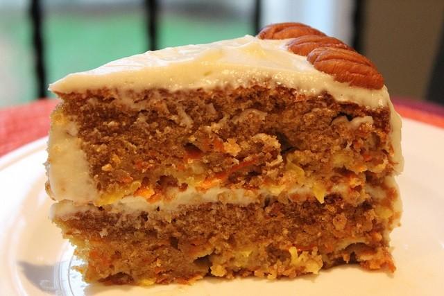 Carrot Pineapple Cake