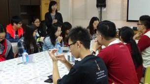 澳门青年分享当地义工服务经验
