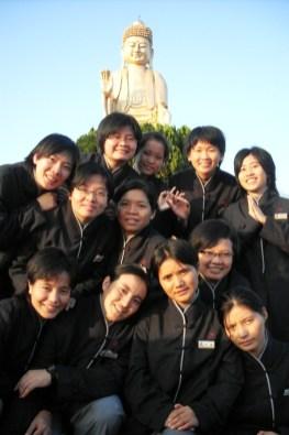 2008年跨國遊學-山上參訪1
