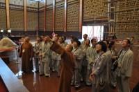 2014-06-11-馬來西亞同學來訪于大雄寶殿有純法師講解