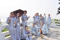2014-06-11-馬來西亞同學來訪于觀心亭上合影