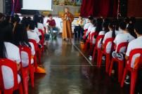 如音法師叮嚀麻坡青年,未來的佛教需要依靠莘莘學子努力發揚