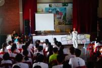 王瑋澤同學分享佛學院的學習與生活