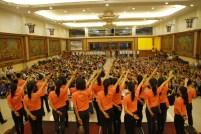 莆公英合唱團教唱大師最新創作的歌詞《信仰》