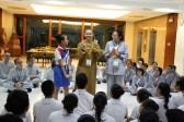 妙豪法師表示,光明大學的熱誠,能看見菲律賓佛光山未來的希望,願能以此熱誠心態接引更多菲國青年,讓佛教弘揚有更加光明的未來。