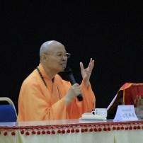心定和尚講授「佛教與因緣」