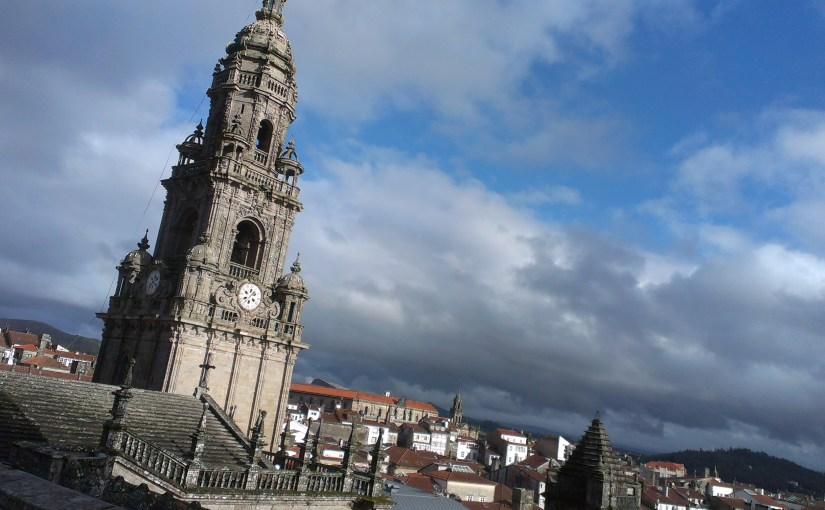 W drodze do Santiago de Compostela- chyba przedostatnia stacja.