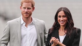 Wax figures of Harry and Meghan removed from the royal family.  Their status has been downgraded