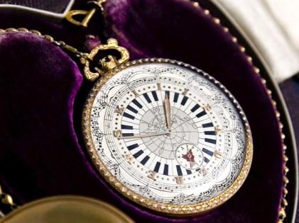 Zegarek I.J.Paderewskiego na 75 urodziny fot. Barbara Gasior