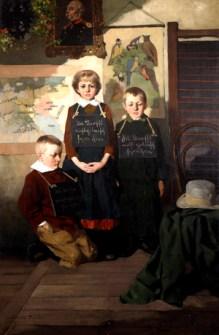 Obraz w kolekcji MPA Dzieci Wrześni L. Stasiaka fot. Julita Siegel