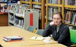 Anna Horolets z Uniwersytetu Gdańskiego fot.M. Kot