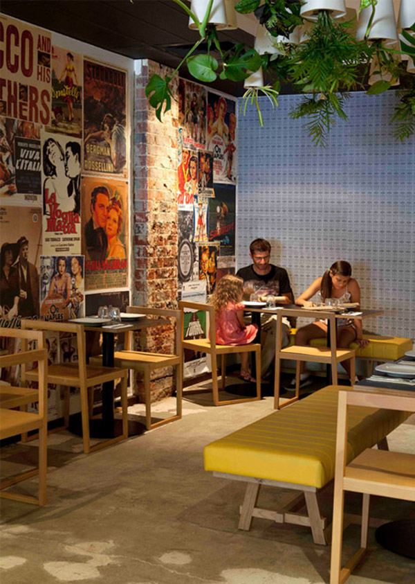 Pizzeria in Perth Inspired by 70s Style Interior Design DZine Trip