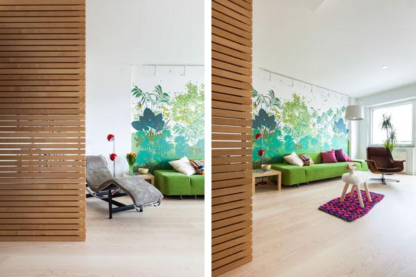Finnish Interior Design fusion style interiors - http://dzinetrip/fusion-style