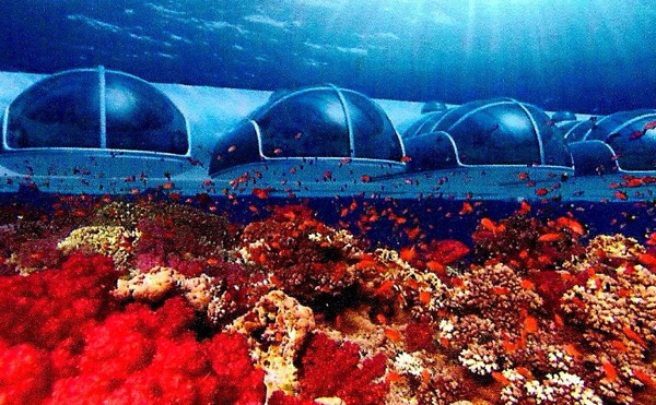 Underwater Hotel (planned)