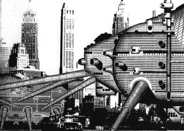 Archigram's Walking City
