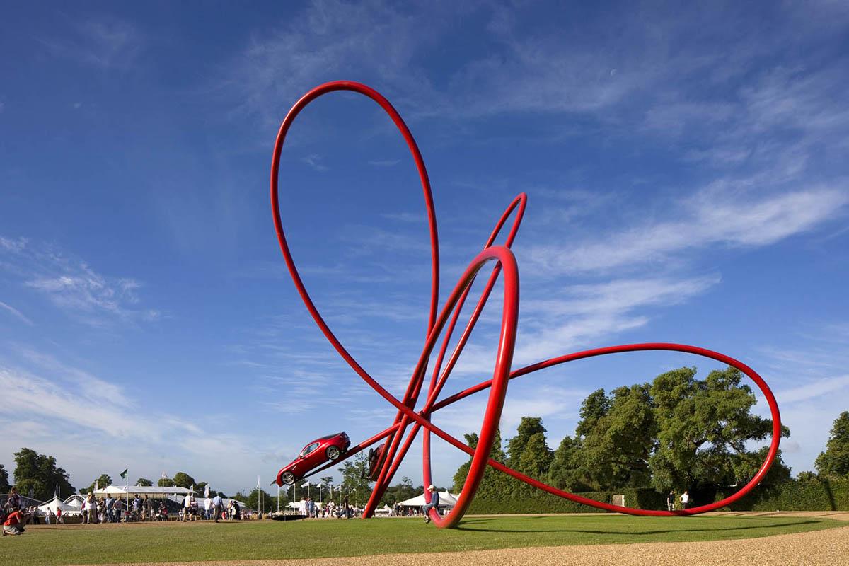 Alfa Romeo Centenary Sculpture designed by Gerry Judah - 02
