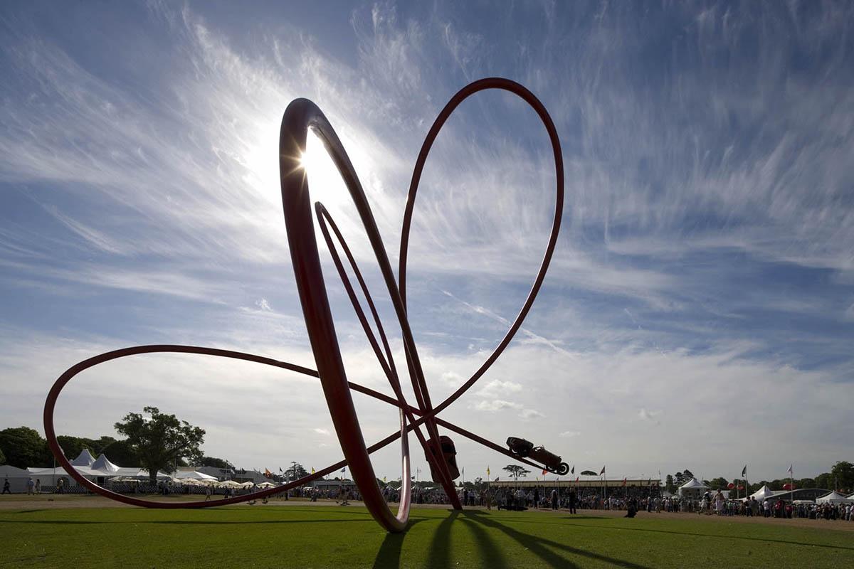 Alfa Romeo Centenary Sculpture designed by Gerry Judah - 06