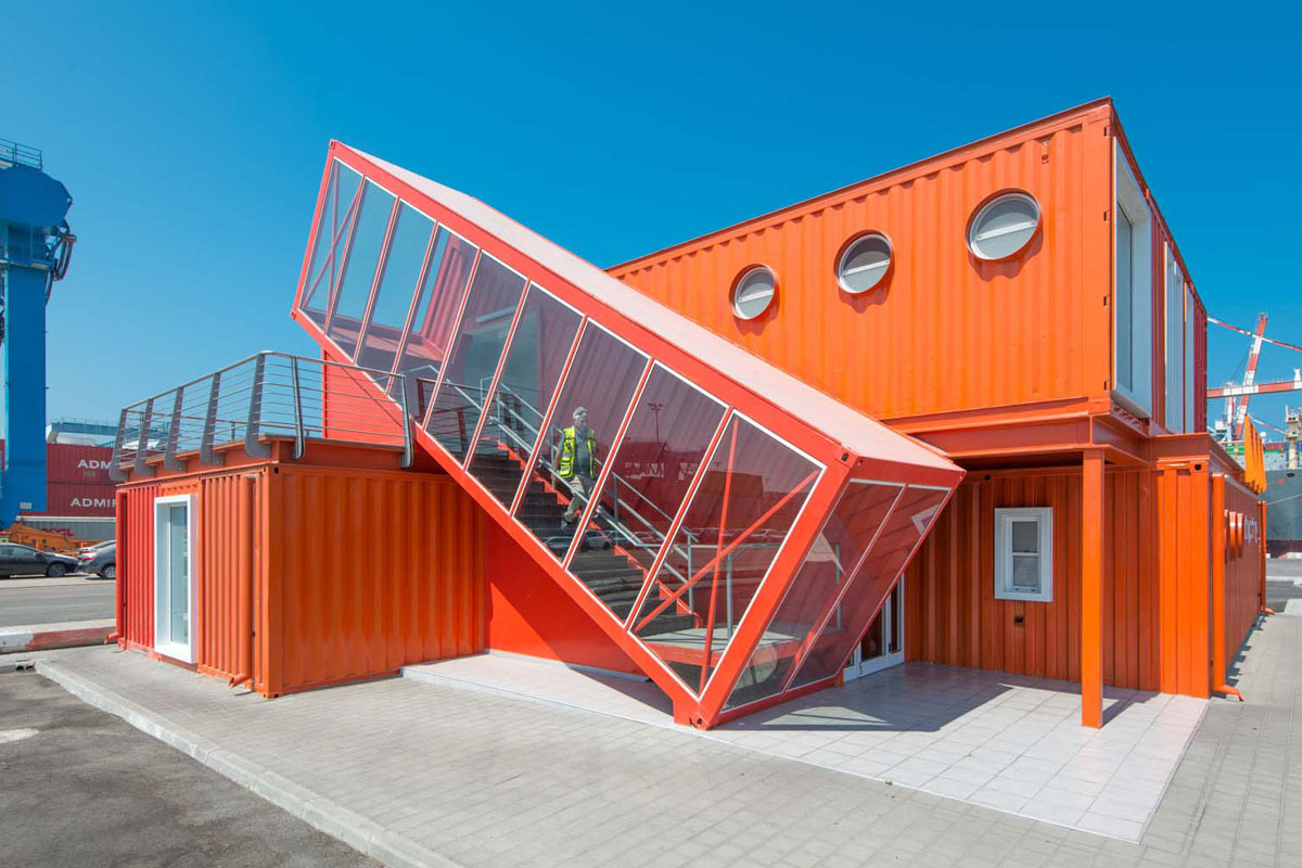 Shipping container architecture is the future of urban for Shipping container home building