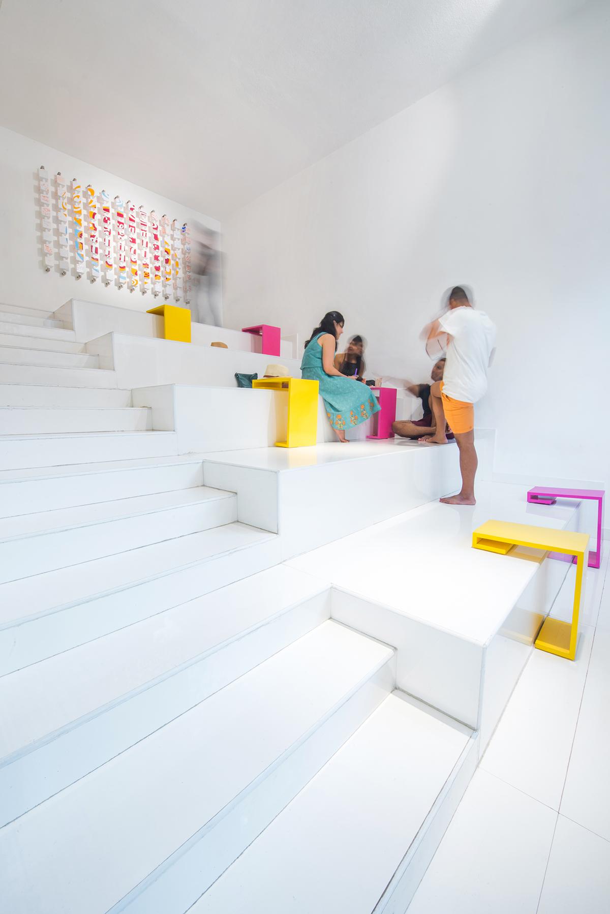 建筑空间设计的现代甜点工作室