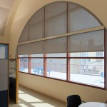 Solar Shades For Half Moon Shaped Windows Will Help You In Setting The Mood Post