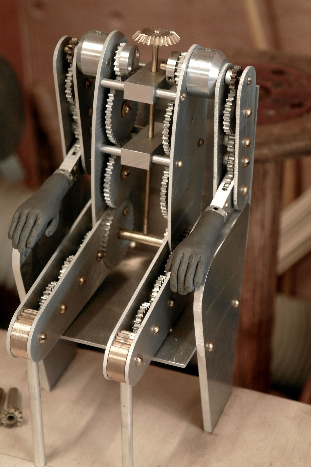 Detail of an automaton